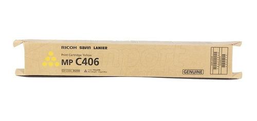 Toner Original Ricoh MP C 406 - Yellow