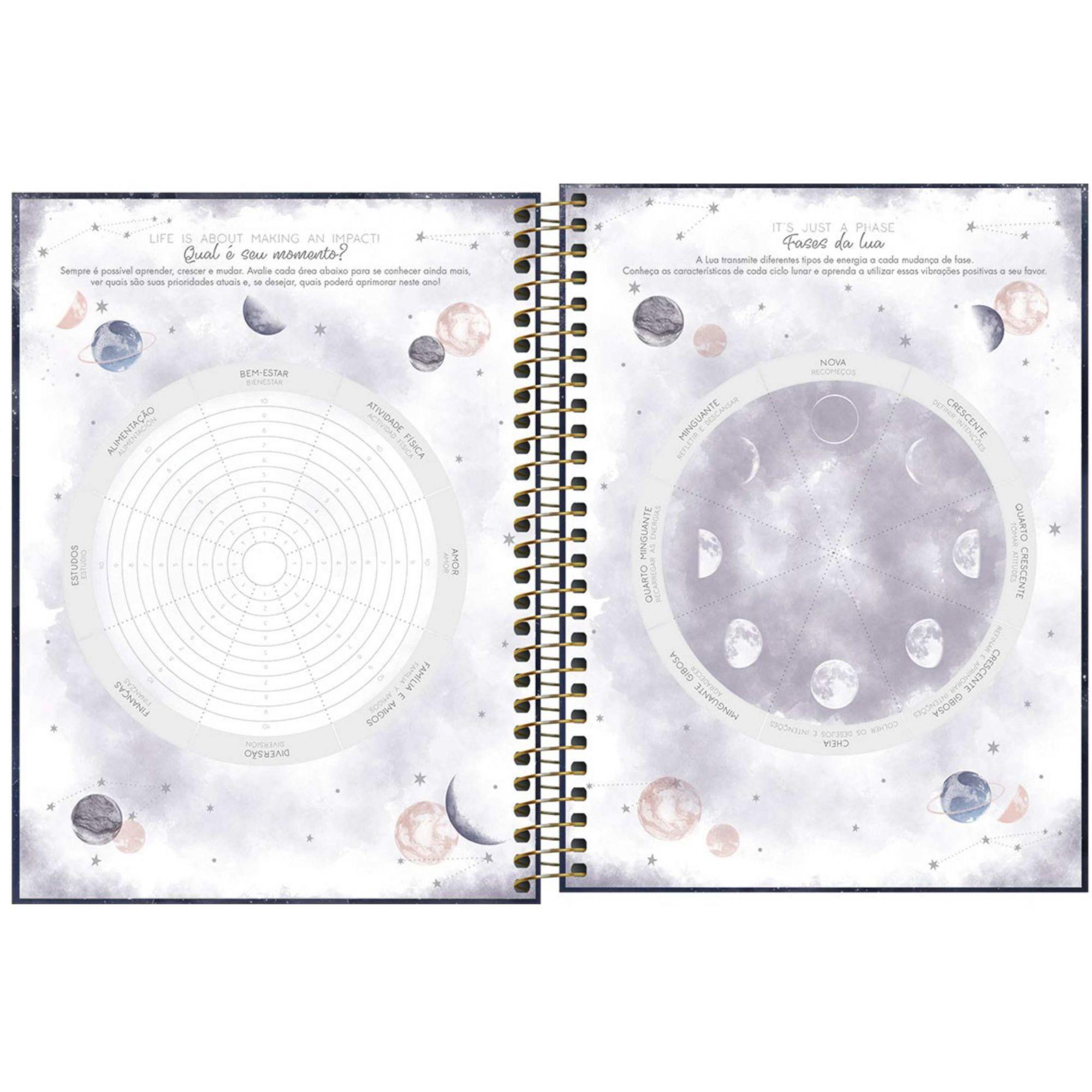 Agenda Espiral Planner Magic - TILIBRA