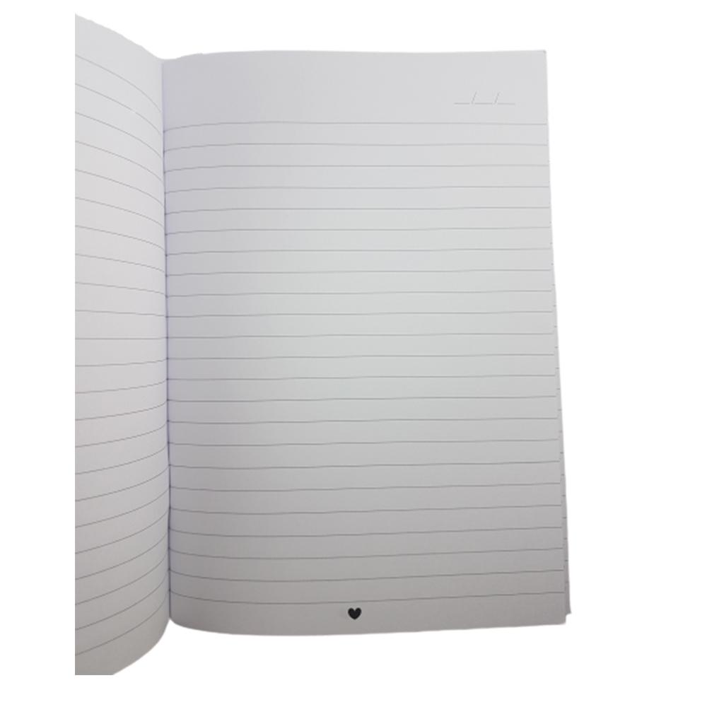 Caderninho Papejournal Pautado Cuidado, Amor, Gentileza e Afeto PAPELOTE