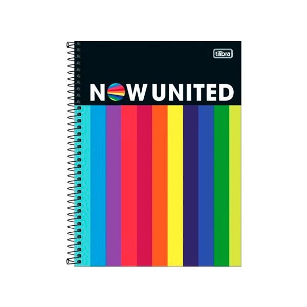 Caderno 1 matéria 80 folhas Now United - TILIBRA