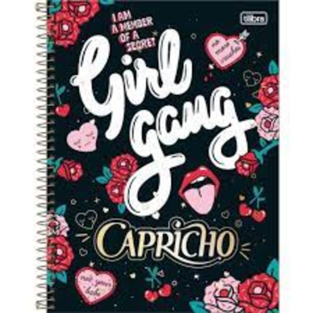 Caderno A4 16 Matérias 320 Folhas Capricho - TILIBRA