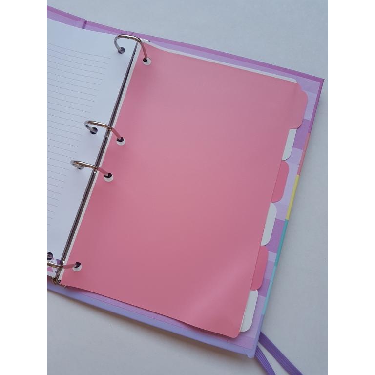 Caderno Argolado 1/4 com Elástico Enjoy - DAC