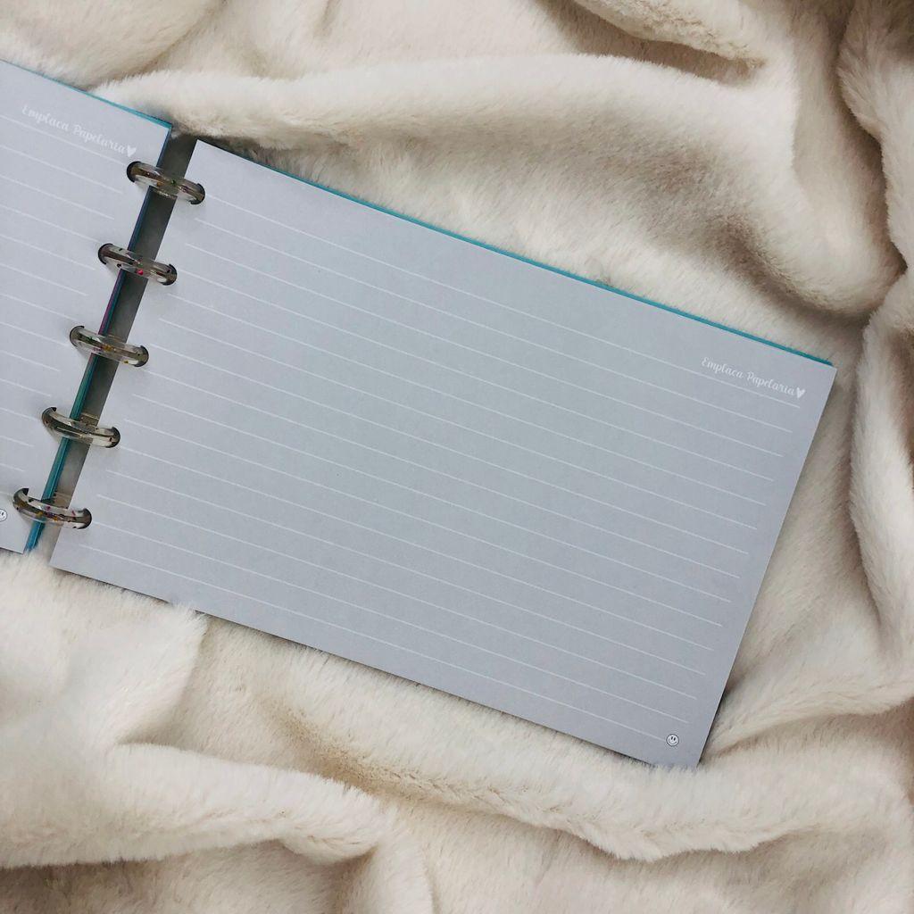 """Caderno de Fichas de Disco 45Fls 21x13cm """"CEO da Minha Vida"""" EMPLACA"""