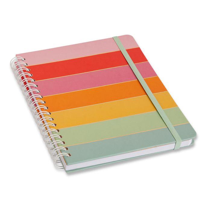 Caderno Espiral Todas Juntas Arco-Íris 17 x 24 Pautado CÍCERO