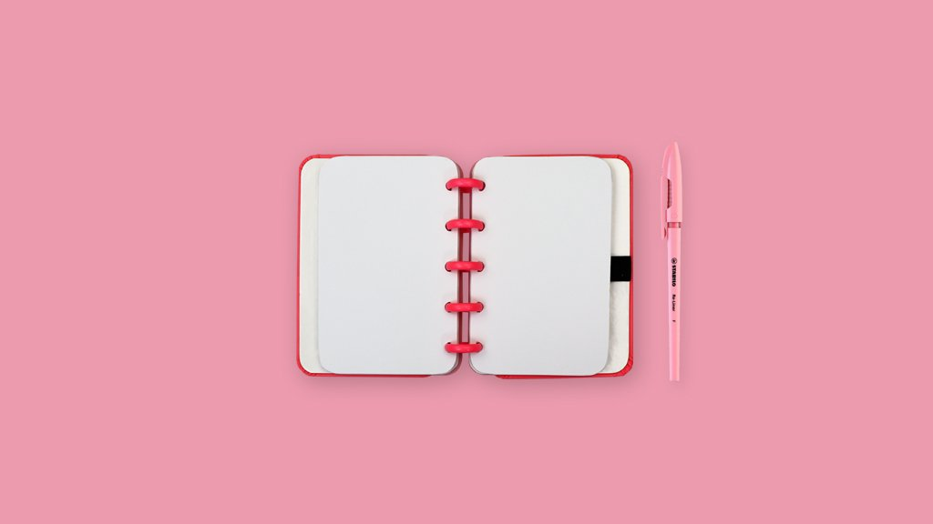 Caderno Inteligente All Pink CI