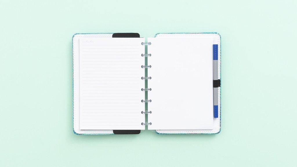 Caderno Inteligente Azul Holográfico CI SEM EAN