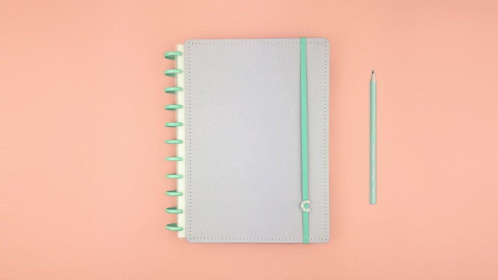 Caderno Inteligente Lala Lilás Pastel G+ CI