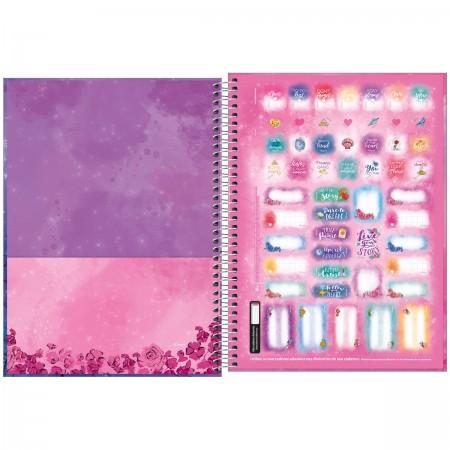 Caderno Universitário 10 Matérias Jasmine 160 Folhas - TILIBRA
