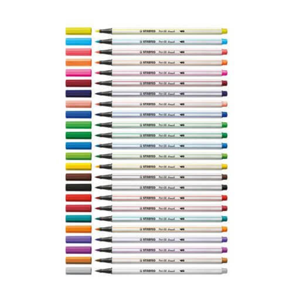 Caneta Brush Pen 68 STABILO