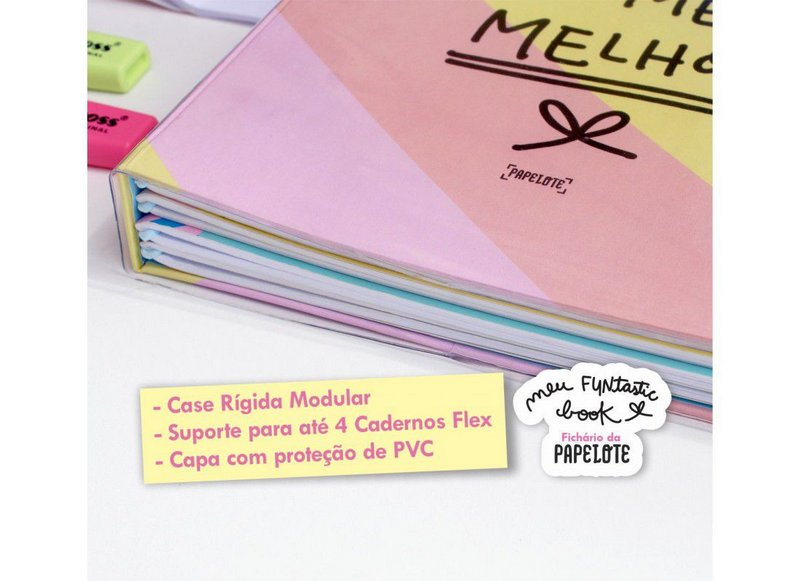 Case Fichario FUNtasticbook Amor Próprio PAPELOTE