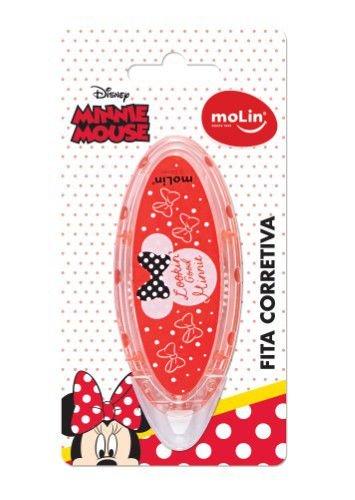 Fita Corretiva 5mm x 6m  Minnie - MOLIN
