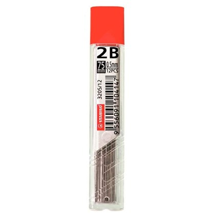 Grafite 0.5mm 2B 12 Pçs STABILO