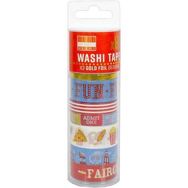 Kit Washi Tape Fairground GLOBAL