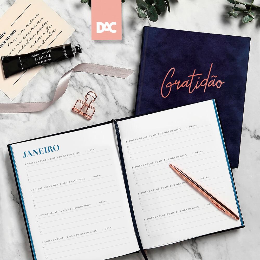 Livro/Diário da Gratidão DAC