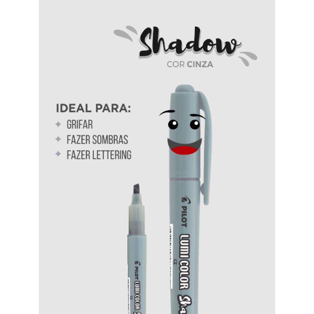 Marca Texto Lumi Shadow/Cinza PILOT