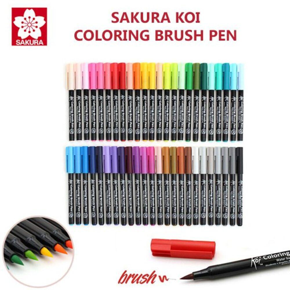 Marcador Pincel Artístico Coloring Brush KOI