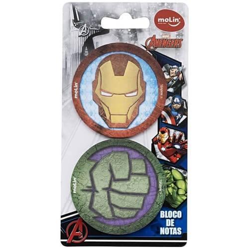 Notas Adesivas Avengers MOLIN