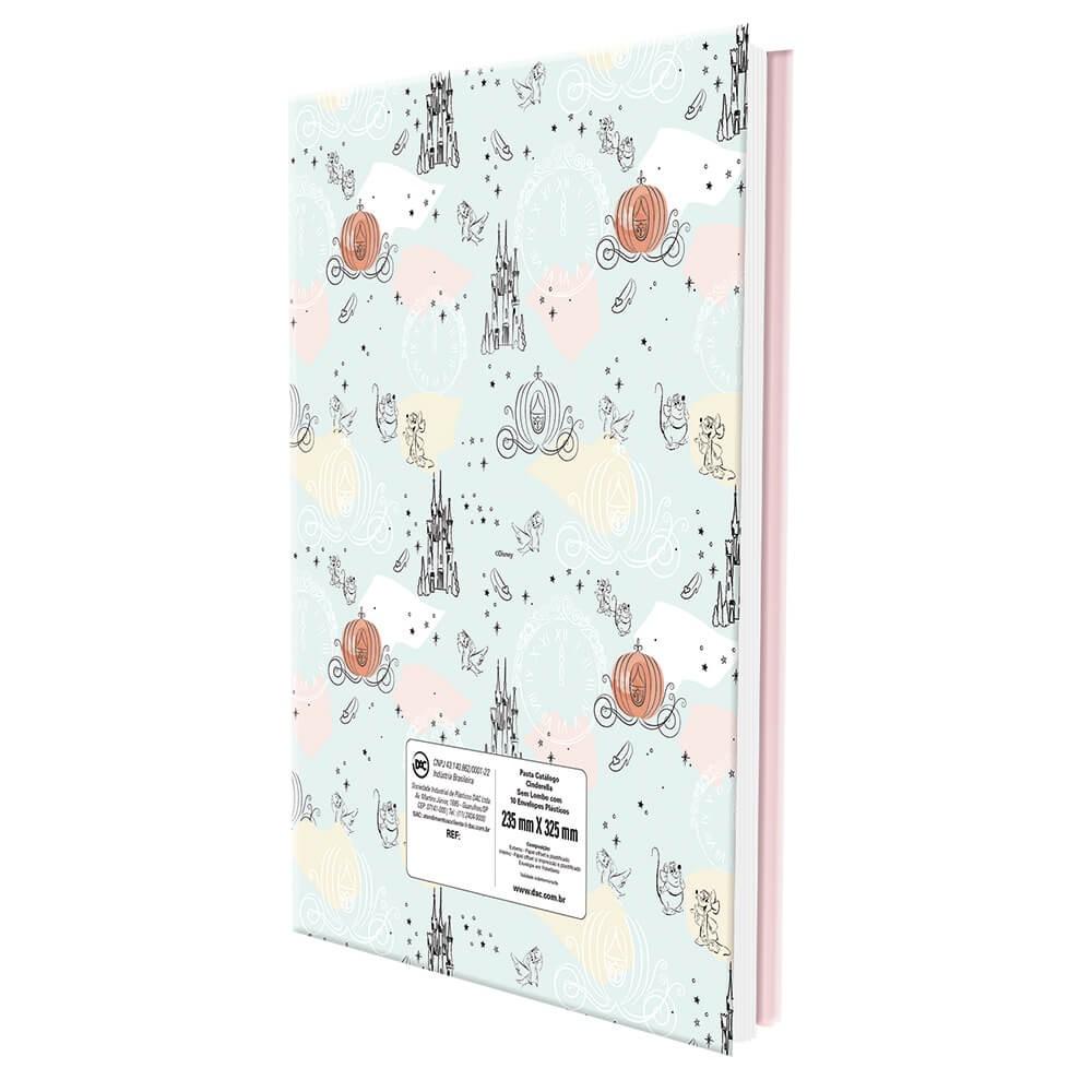 Pasta Catálogo Cinderela Tamanho A4 DAC