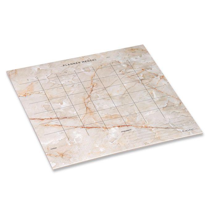 Planner Bloco Mensal Minerais 29,7 x 27 CÍCERO