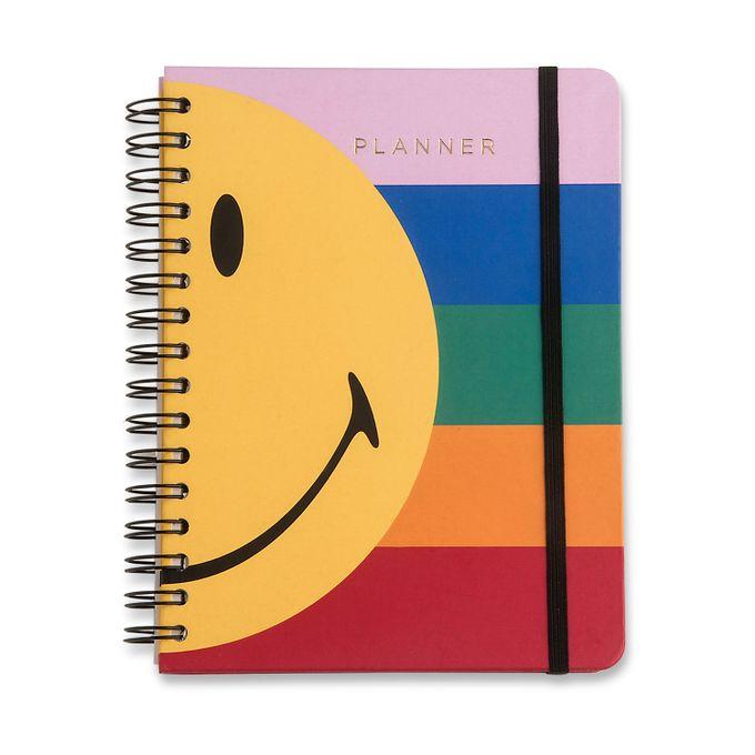 Planner Wire-o Smiley Listras Semanal 14,8 x21 CÍCERO