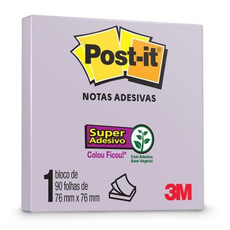 Post-It 90 Folhas 76x76mm Lilac 3M
