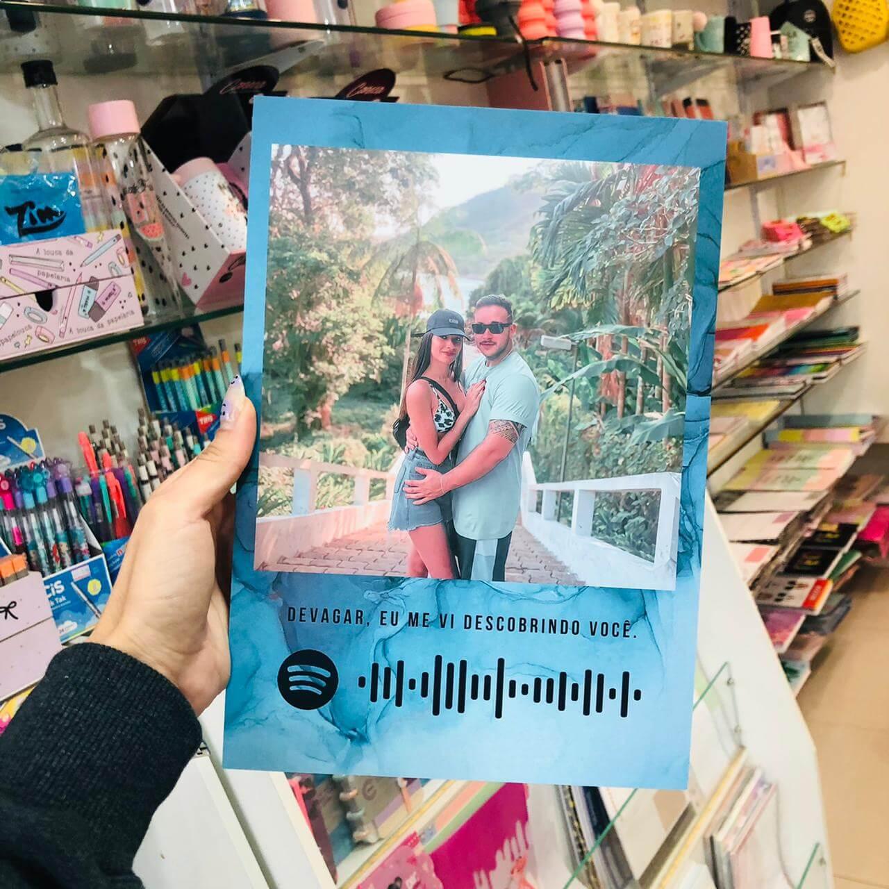 Quadro Estilo Polaroid A4 EMPLACA