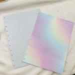 Refil Caderno de Disco Algodão Doce Linhas Brancas A4 90g EMPLACA