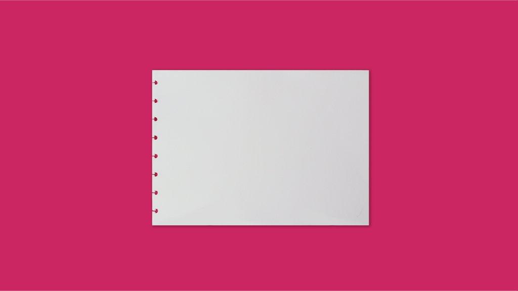 Refil Sketchbook  A4 - 140g CI