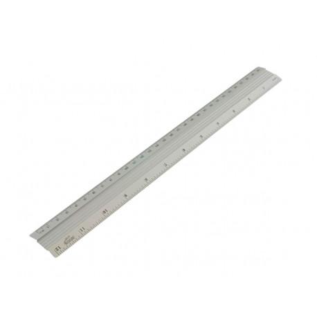 Régua de alumínio 30cm -BRW