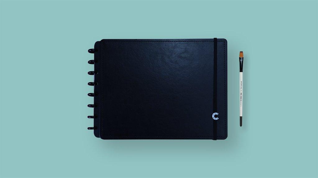 Sketchbook Basic Black A4 CI