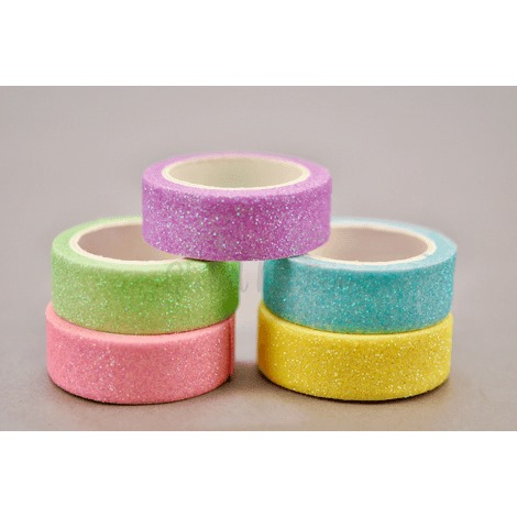 Washi Tapes Glitter Tons Pastel GLOBAL