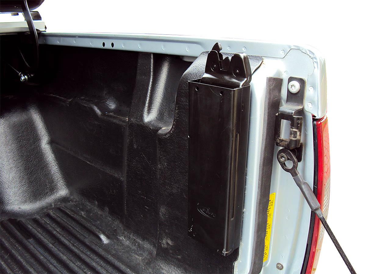 Tampão de aço capota elétrica S10 cabine dupla 1997 a 2011