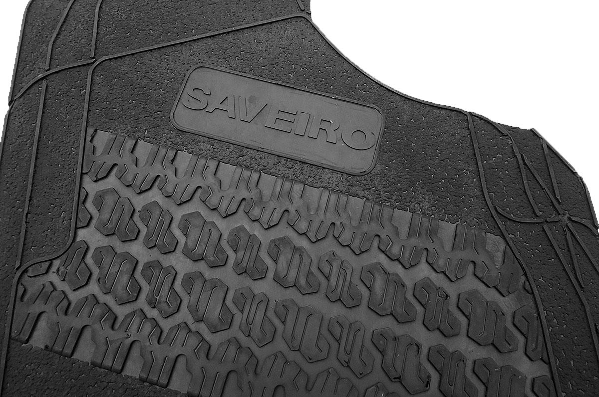 Tapete de borracha Saveiro 2010 a 2017 cabine simples ou dupla