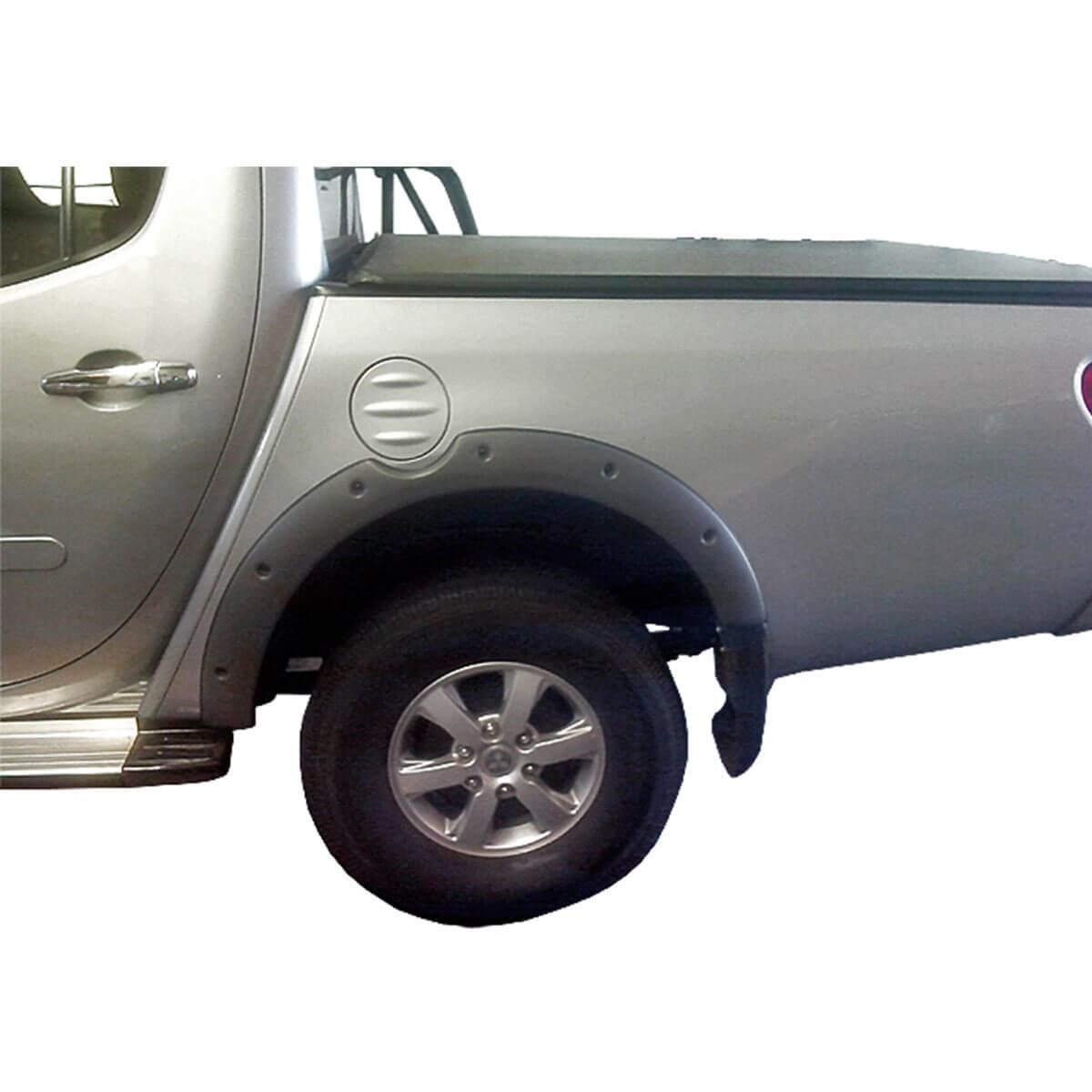 Alargador de paralama L200 Triton 2012 a 2018 GL e GLX