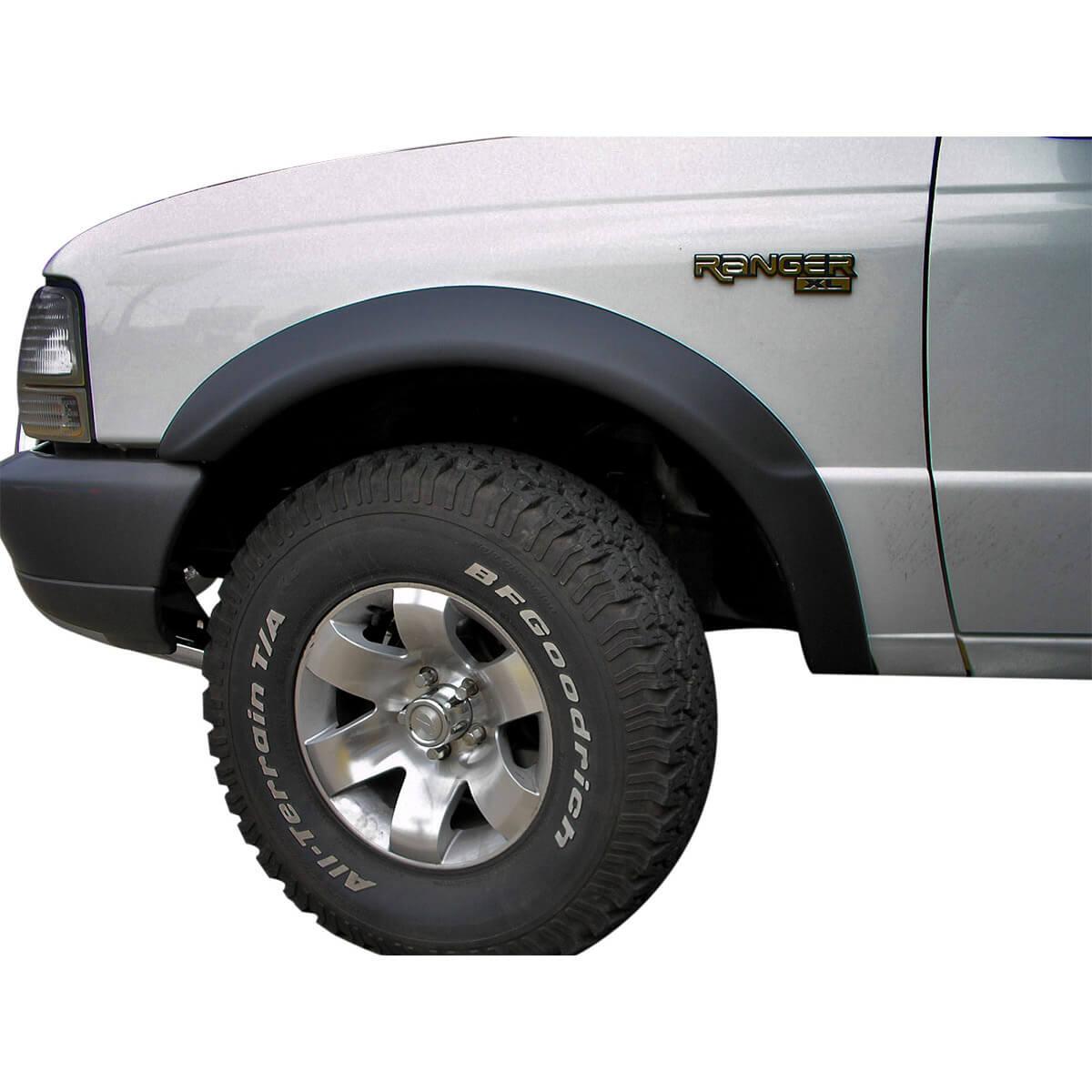 Alargador de paralama modelo estreito Ranger 1994 a 2004