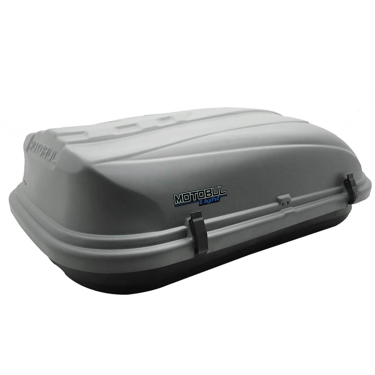 Bagageiro de teto maleiro com chave 460 litros cinza - LIGHT