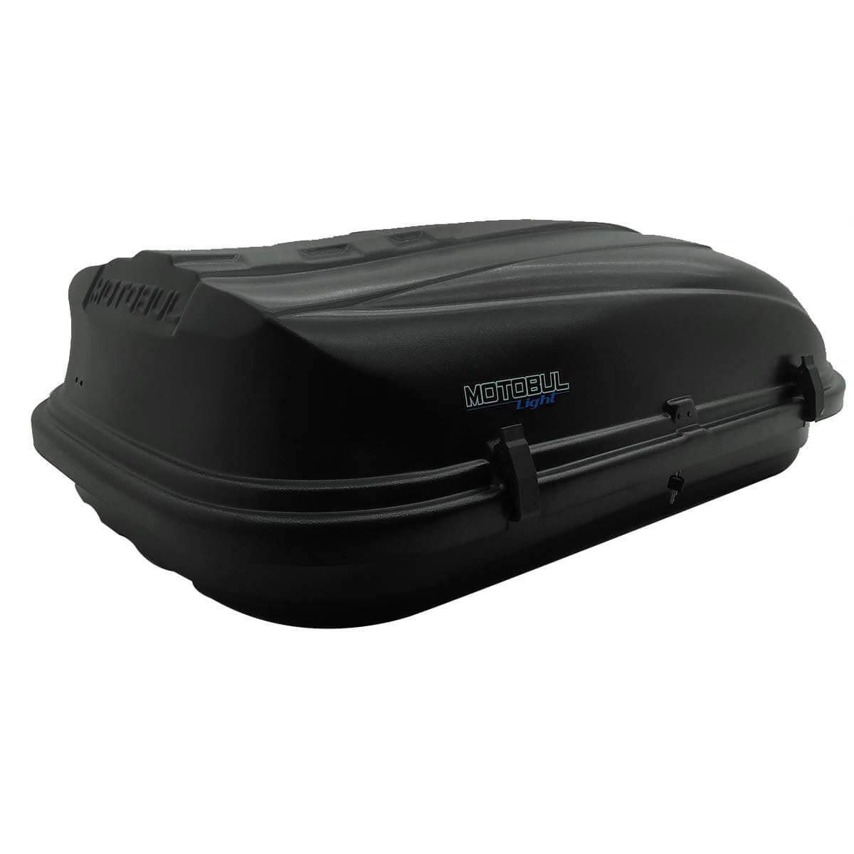 Bagageiro de teto maleiro com chave 460 litros preto - LIGHT