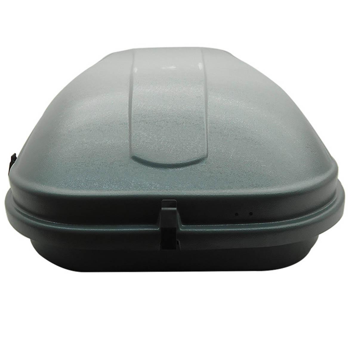 Bagageiro de teto maleiro com chave 510 litros cinza