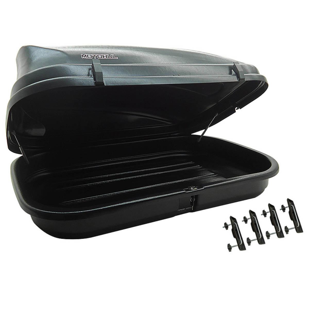 Bagageiro de teto maleiro com chave 510 litros preto