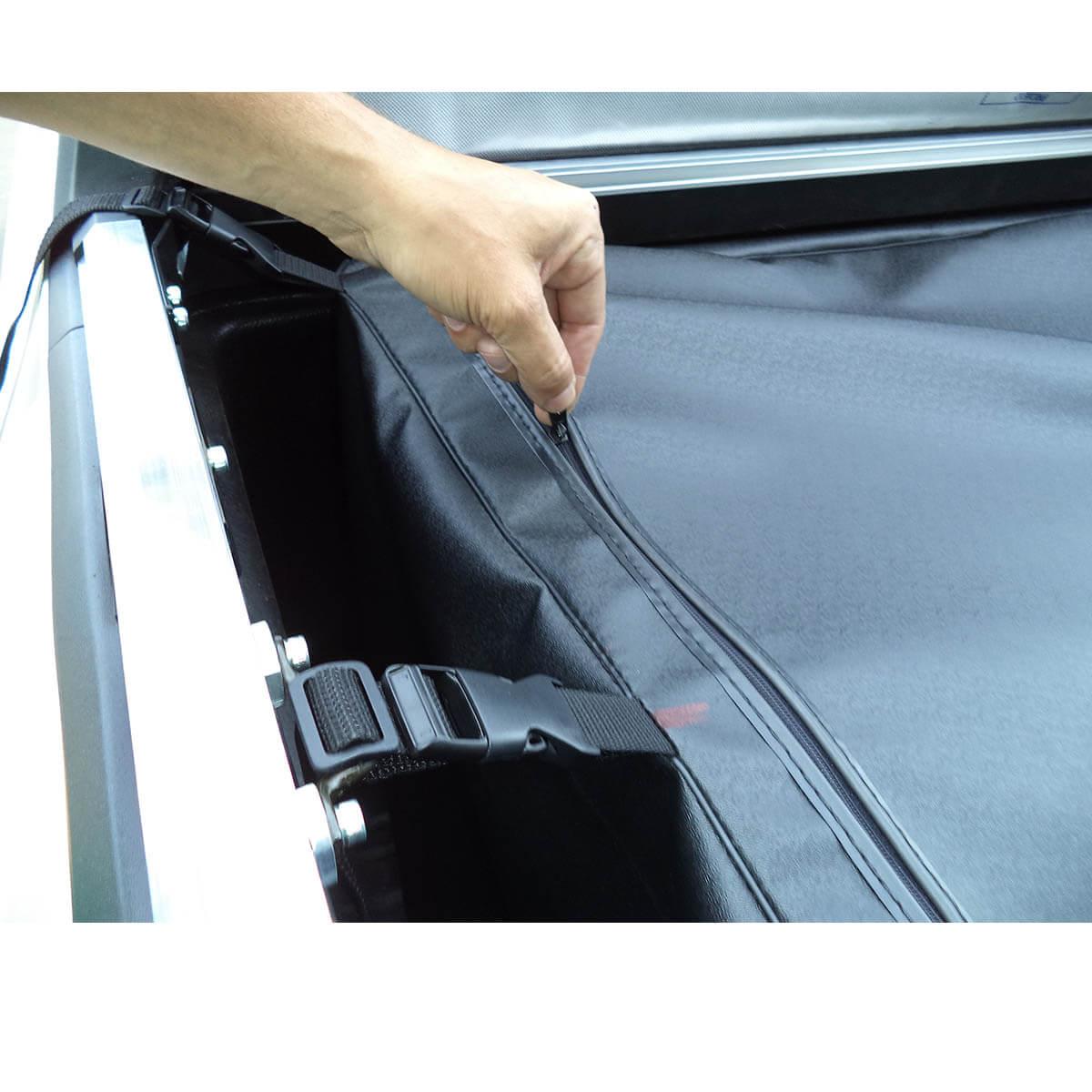 Bolsa caçamba estendida horizontal L200 Triton 2008 a 2017