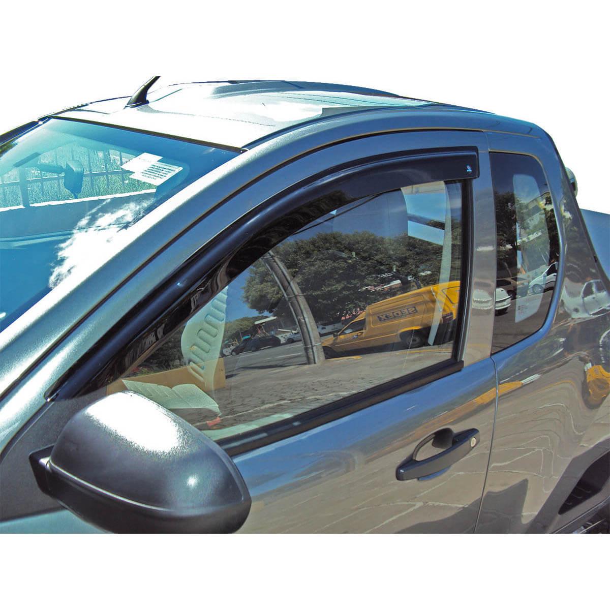 Calha de chuva F250 cabine simples 1998 a 2011