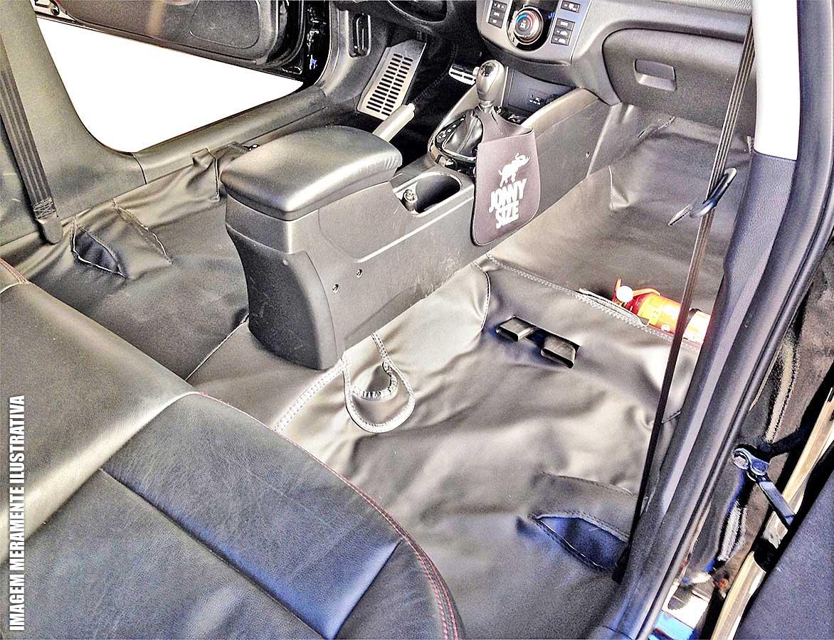 Capa de assoalho e porta malas Jeep Renegade 2016 2017