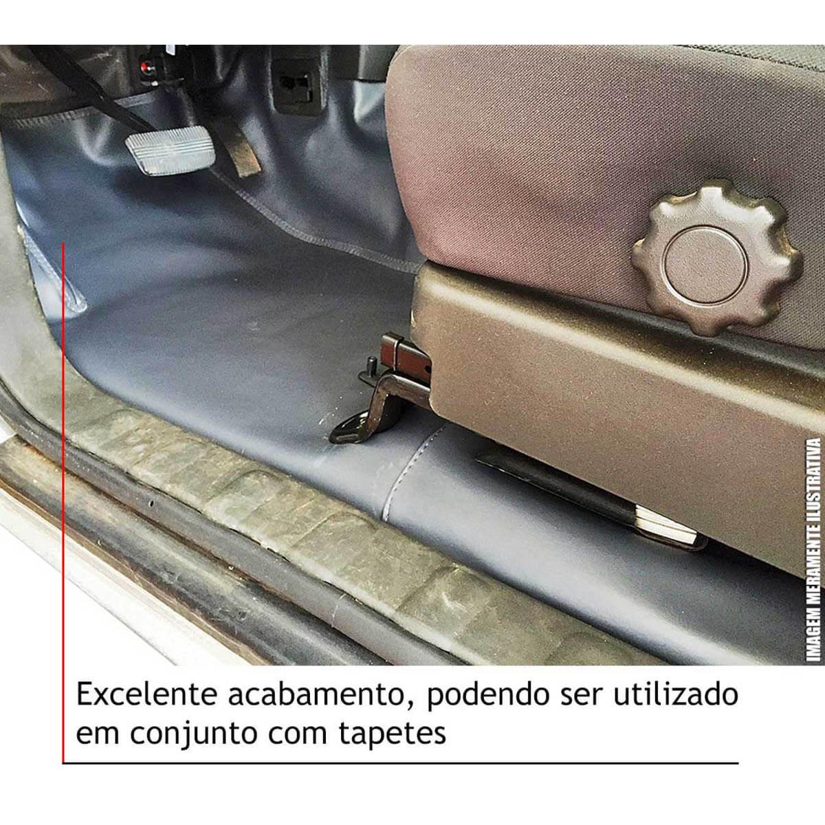 Capa de assoalho Hilux cabine dupla 2005 a 2015