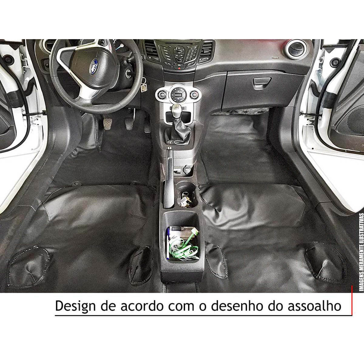 Capa de assoalho Nova S10 cabine dupla 2012 a 2018