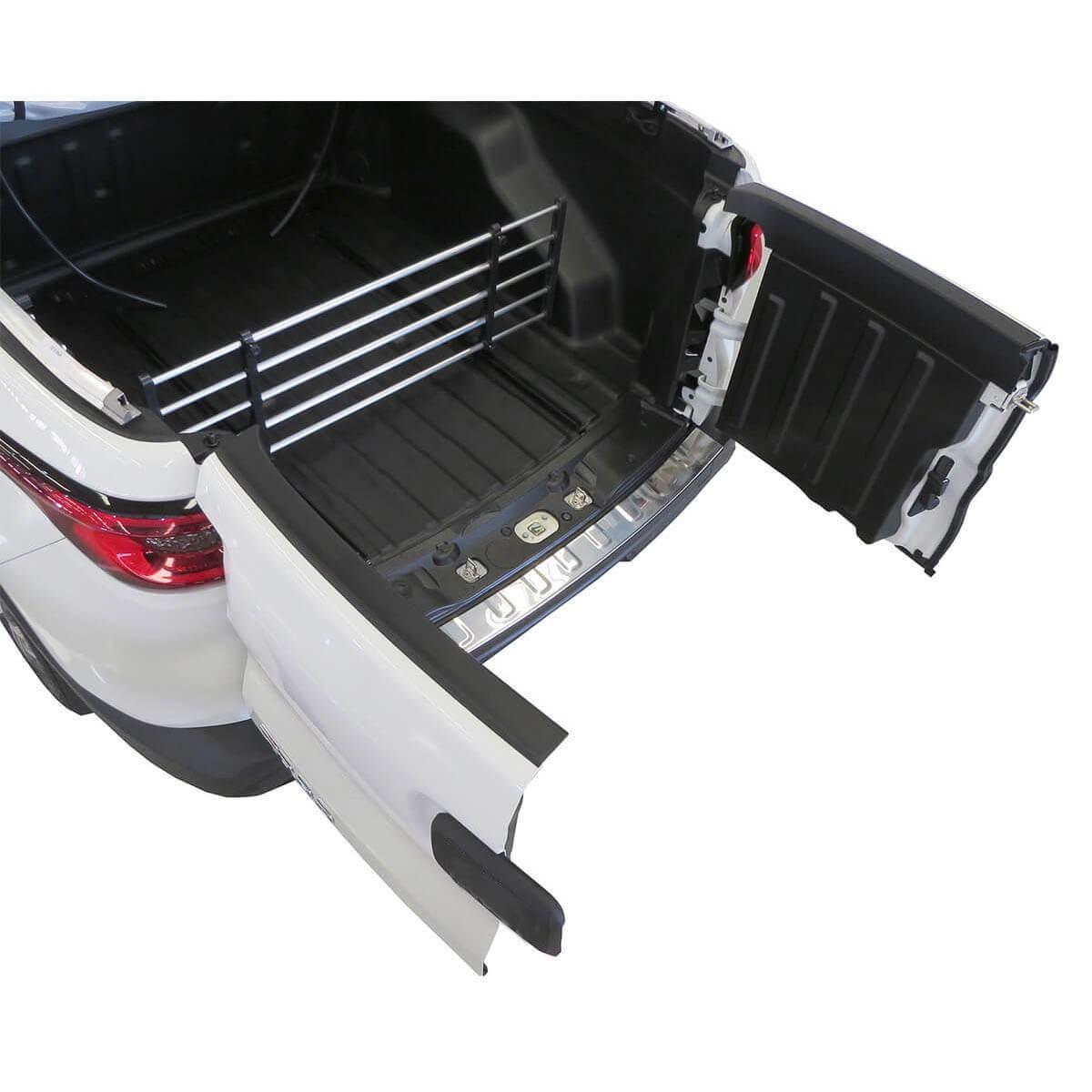 Divisor separador de cargas caçamba Fiat Toro 2017 2018