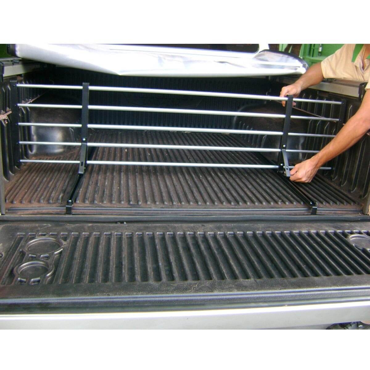 Divisor separador de cargas caçamba Hilux 1998 a 2004