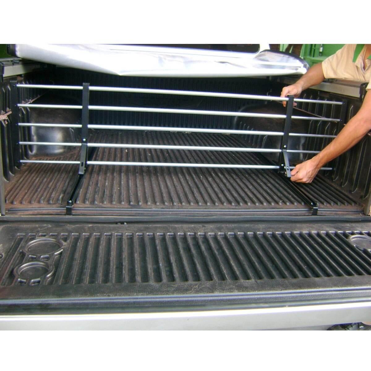 Divisor separador de cargas caçamba L200 GL 1999 a 2005 ou L200 GLS 1999 a 2007