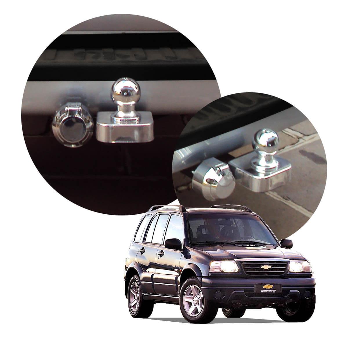 Engate de reboque fixo Tracker 1999 a 2009