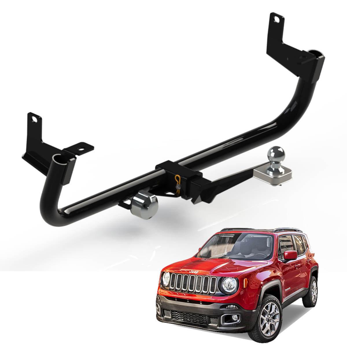 Engate de reboque Jeep Renegade 2016 4x2 ou 4x4 removível 700 kg