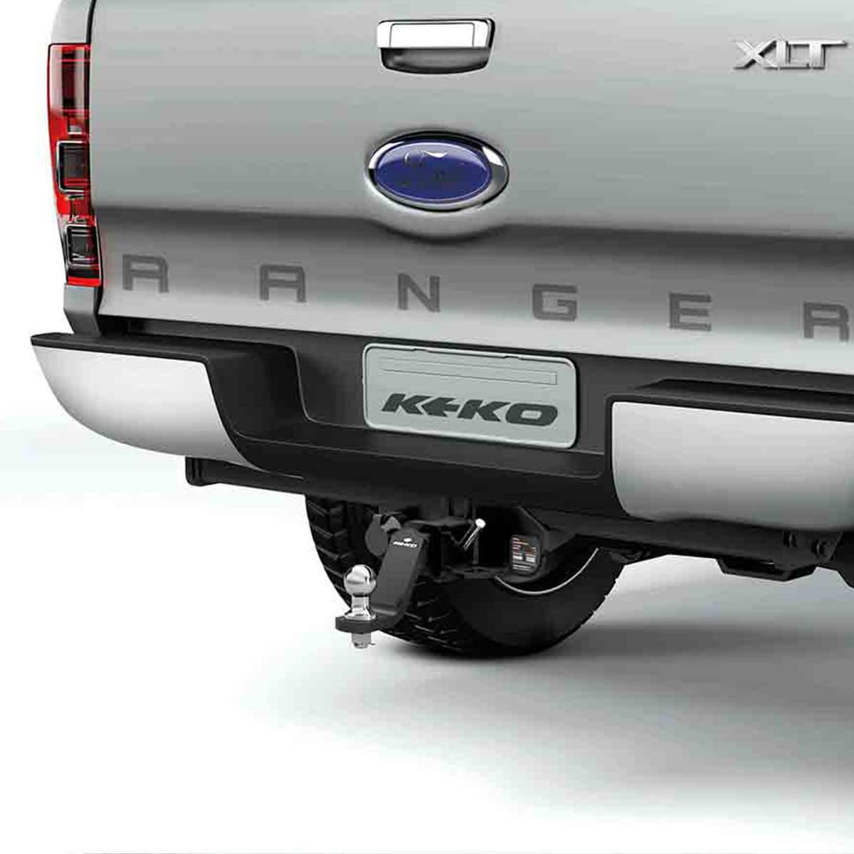 Engate de reboque Nova Ranger 2013 a 2017 Keko K1 removível 1500 kg